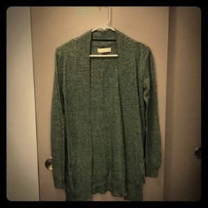 Urban Outfitters Long Green Cardigan